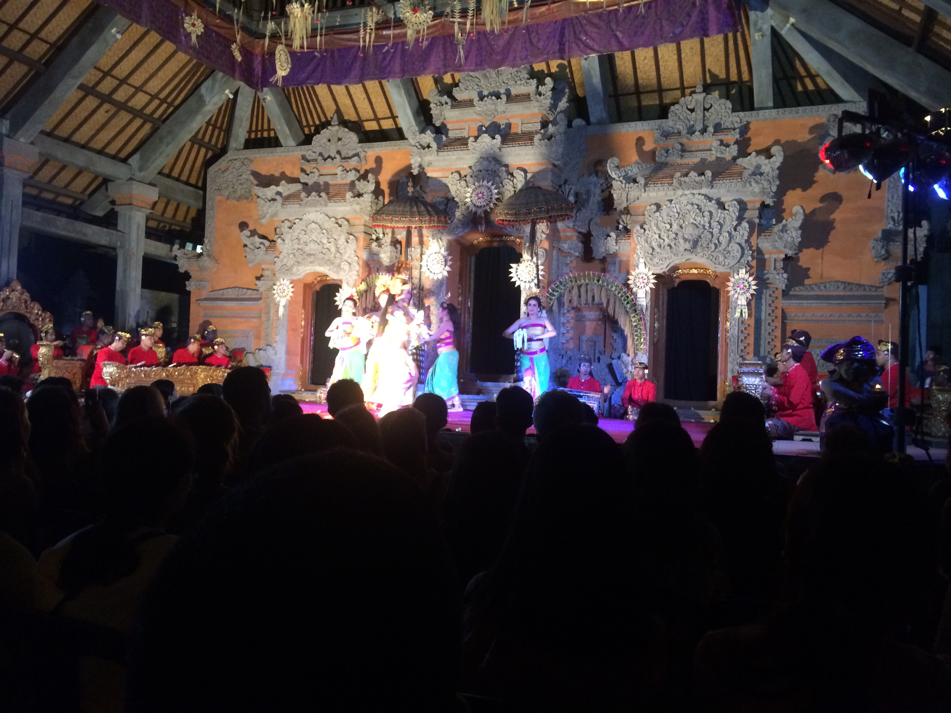 Balinese dance drama of the Ramayana in Ubud.