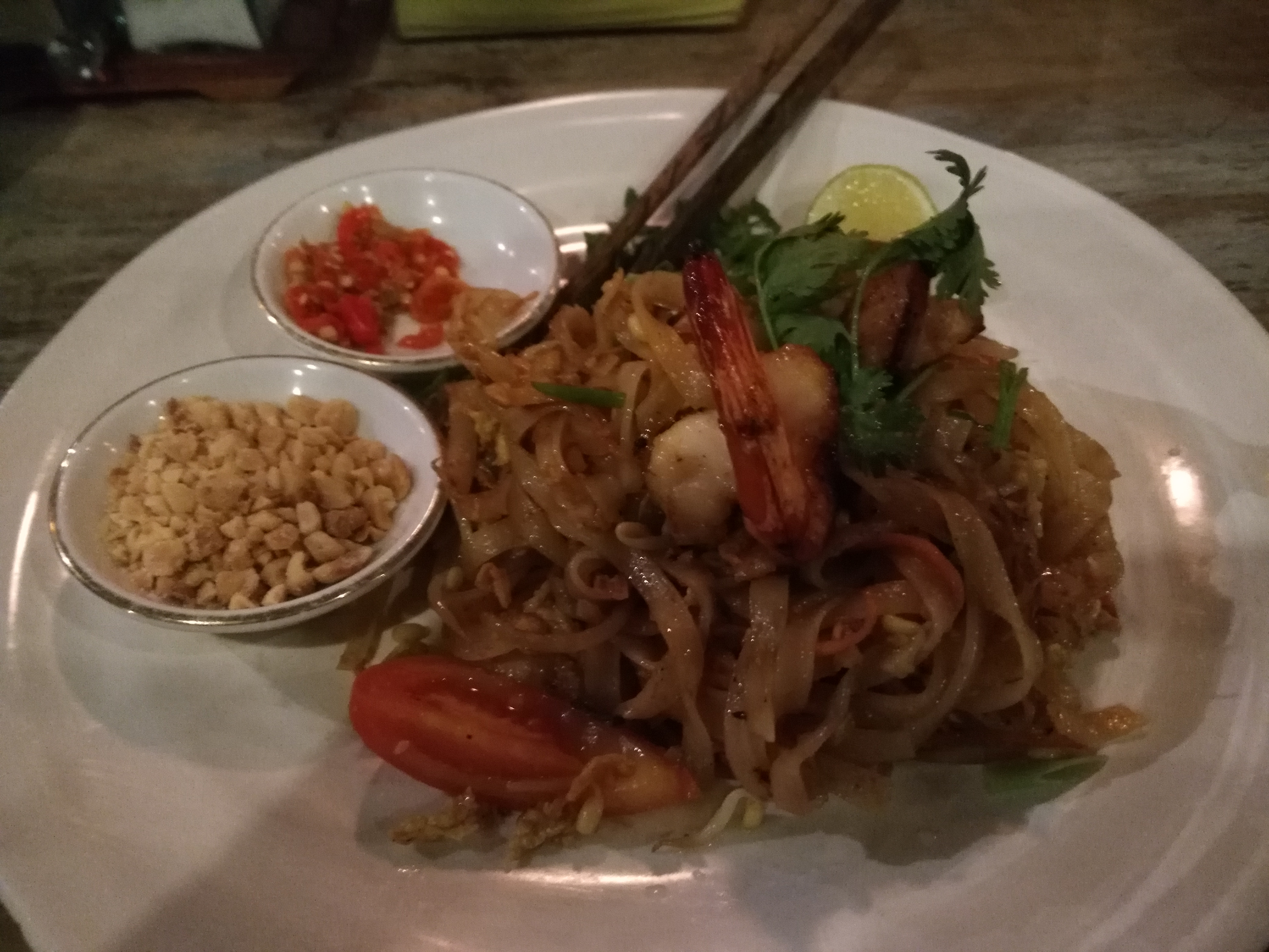 Pad Thai at a Clear Cafe.
